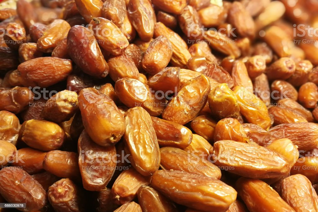 fresh date fruits as background stock photo