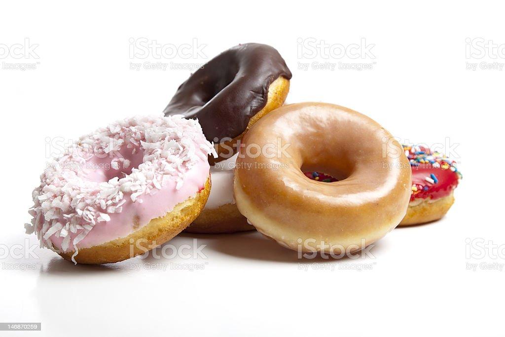 Fresh Donuts stock photo