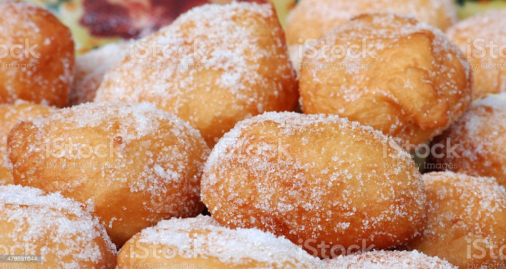 Fresh donuts stock photo