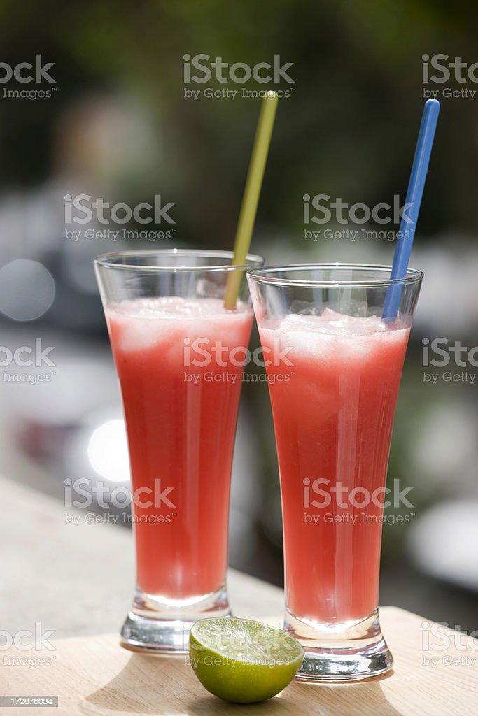 fresh drink royalty-free stock photo