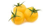 fresh dutch yellow 'tasty tom' tomatoes