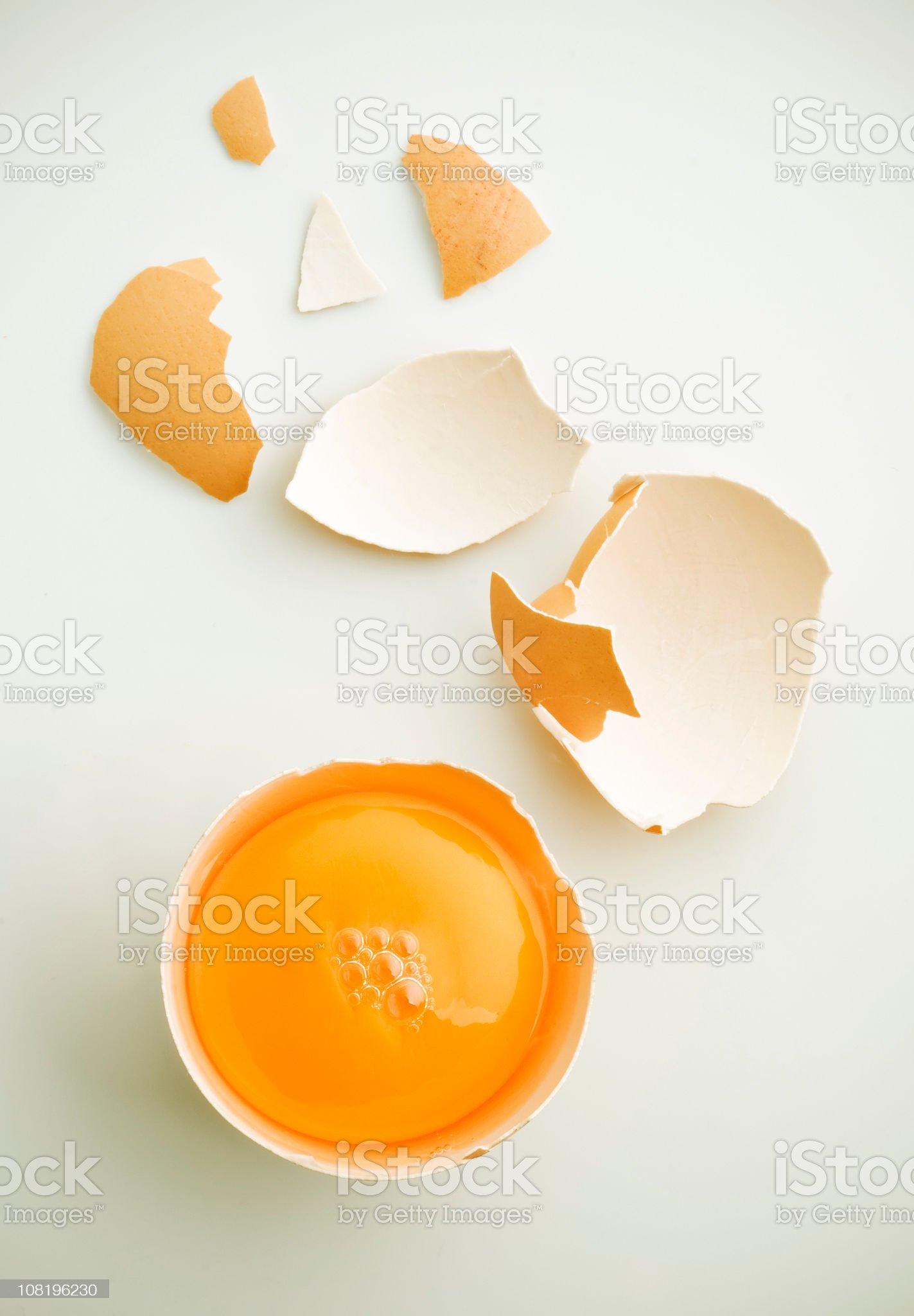 Fresh egg royalty-free stock photo