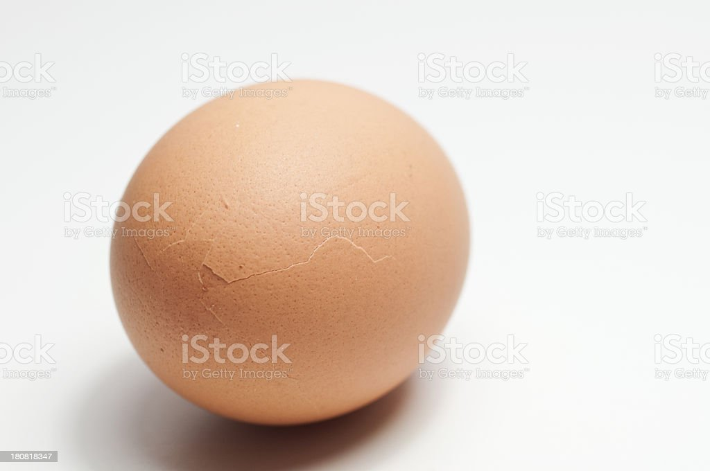 Fresh egg royalty-free stock photo