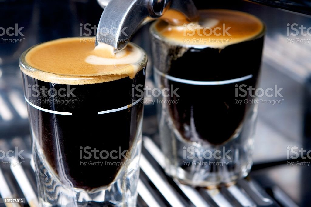 Fresh Expresso royalty-free stock photo