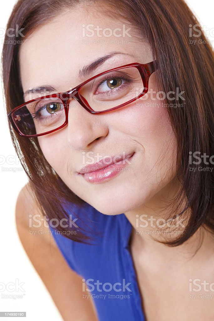 Fresh faced and enthusiatic about life royalty-free stock photo