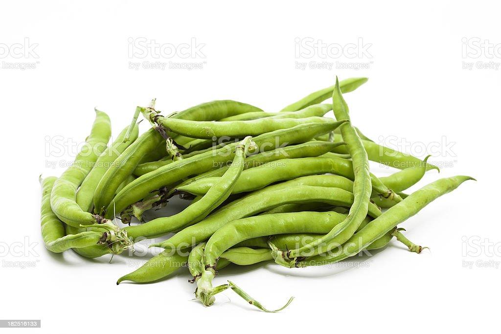 fresh fava beans royalty-free stock photo