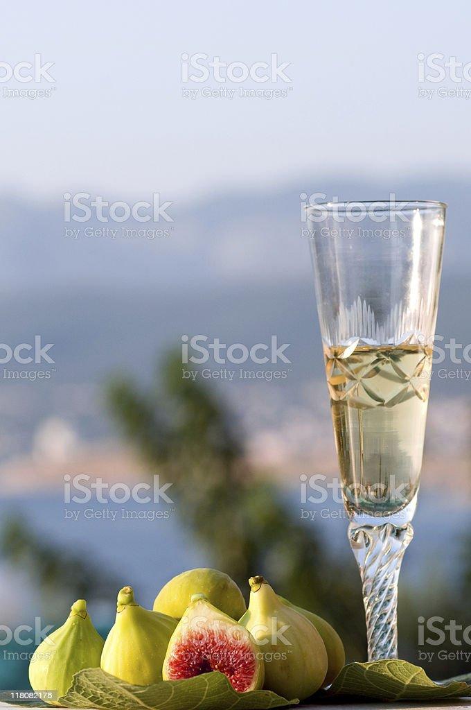fresh fig stock photo