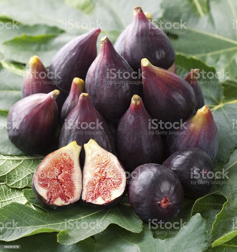 fresh figs royalty-free stock photo
