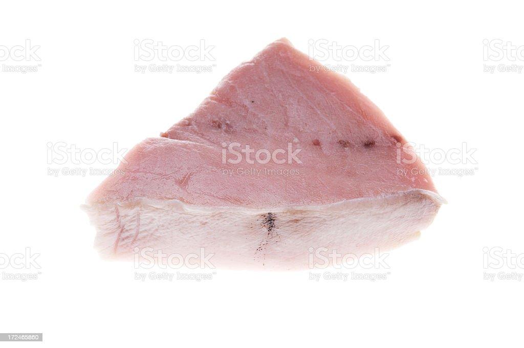 Fresh Fillet of Swordfish stock photo