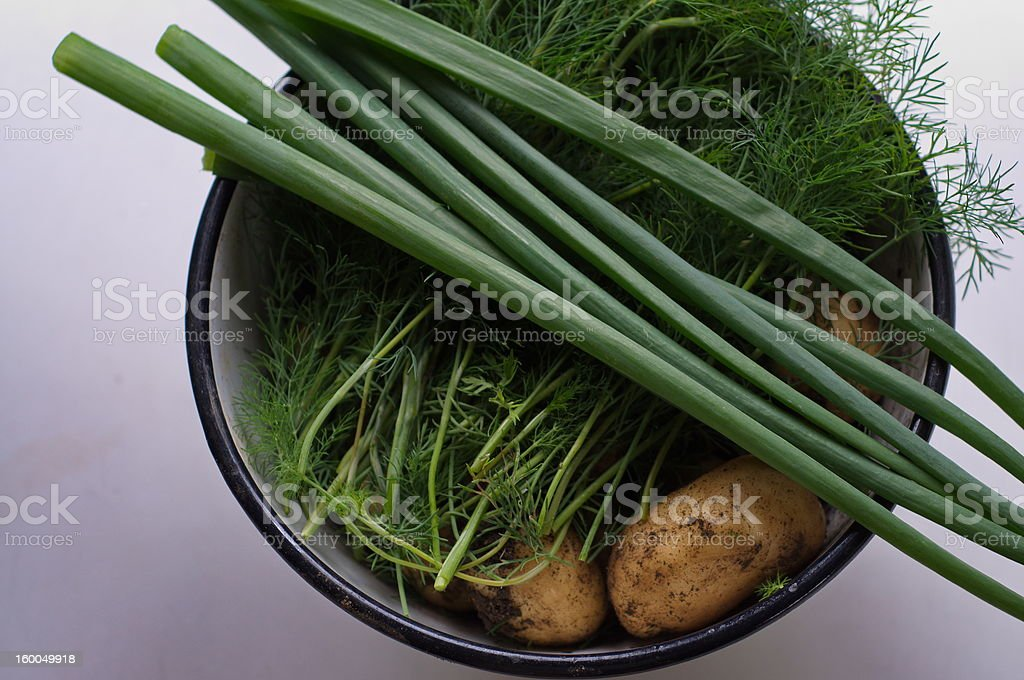 Fresh food stock photo