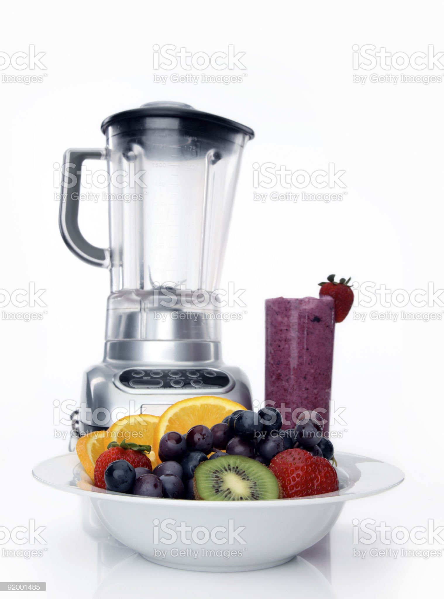 Fresh fruit and drink royalty-free stock photo
