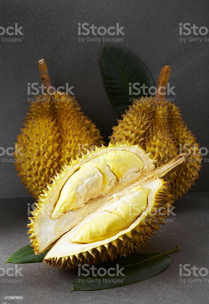 Fresh fruit, durian stock photo