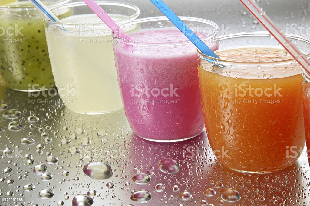 fresh fruit juices 2. royalty-free stock photo
