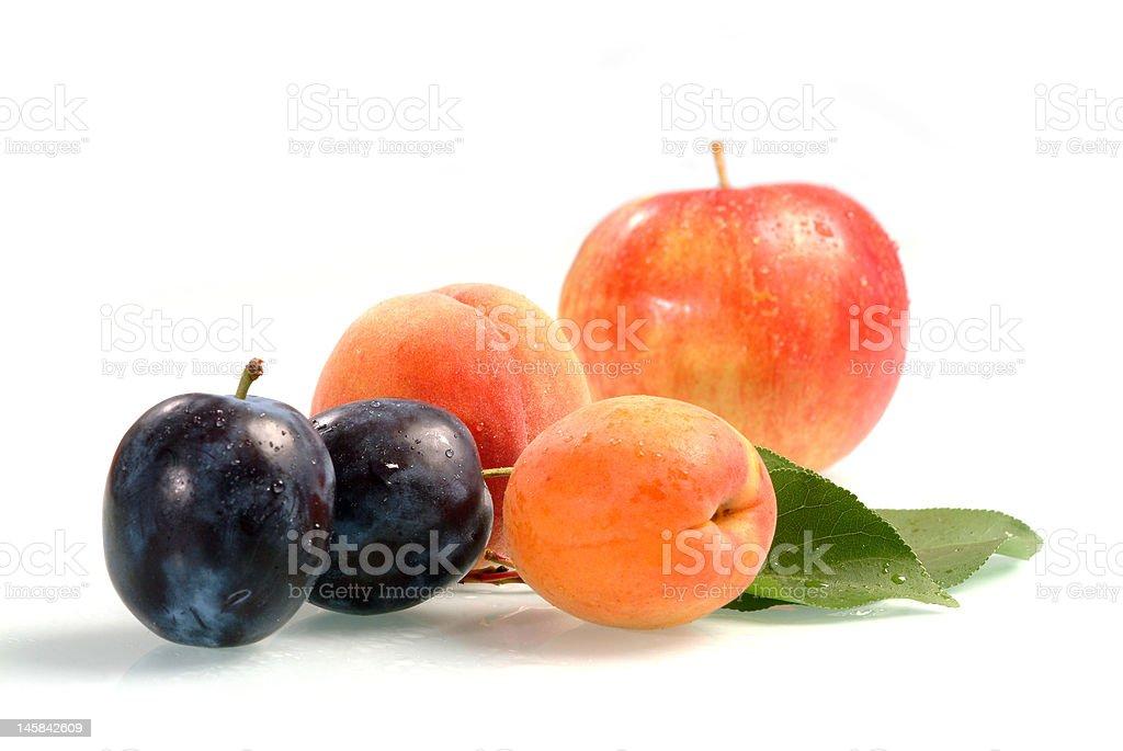 Fresh fruit royalty-free stock photo