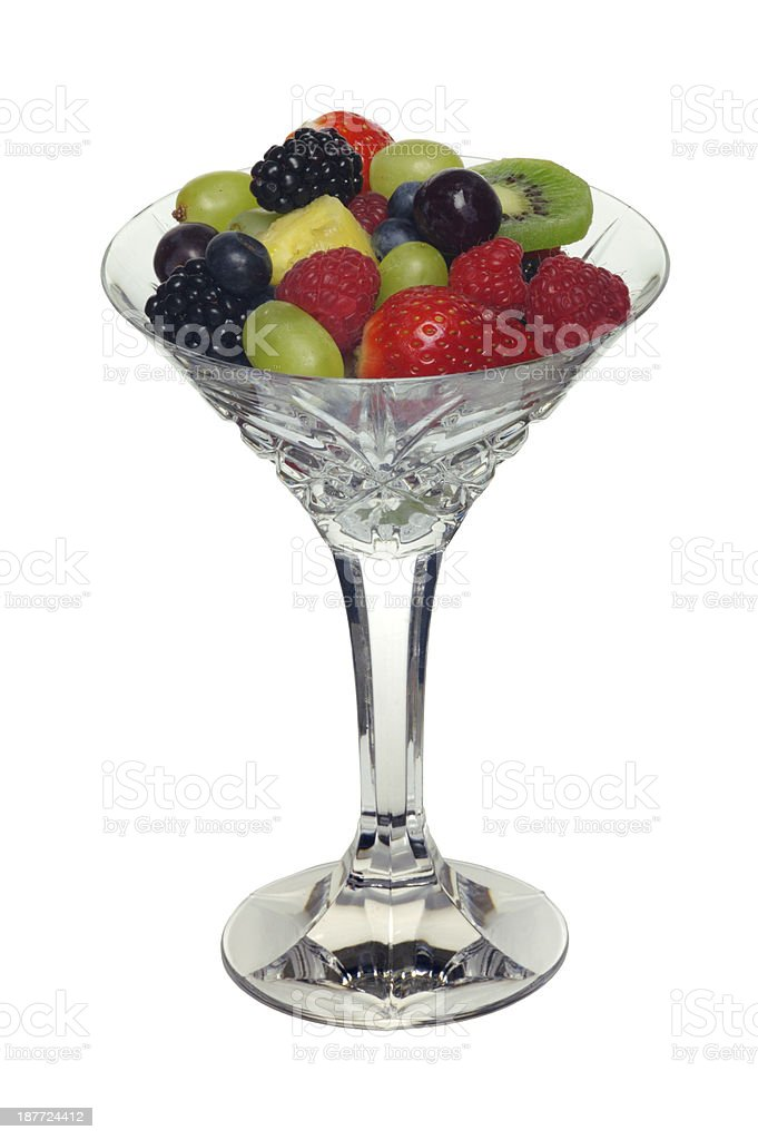 Fresh fruit salad stock photo