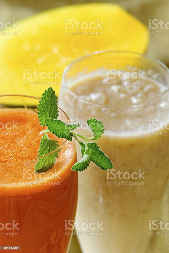Fresh Fruit Smoothie royalty-free stock photo