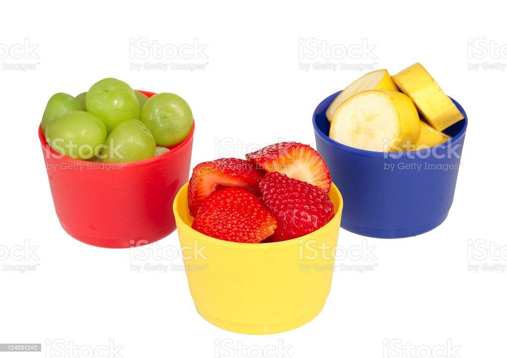 Fresh Fruit Trio stock photo