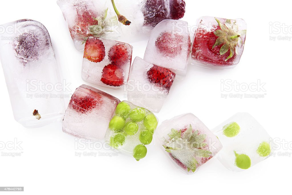 Fresh fruits and vegetable. stock photo