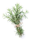 Fresh garden herbs. Rosemary