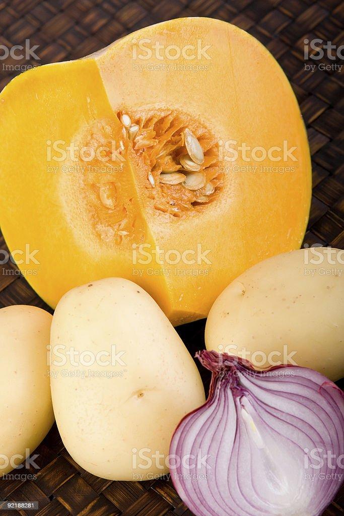 Fresh Garden Vegetables royalty-free stock photo