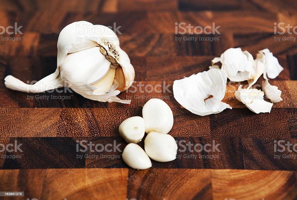 Fresh Garlic royalty-free stock photo