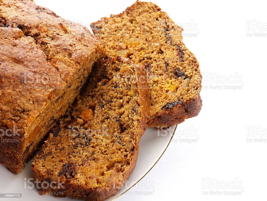 Fresh Ginger and fruit bread royalty-free stock photo