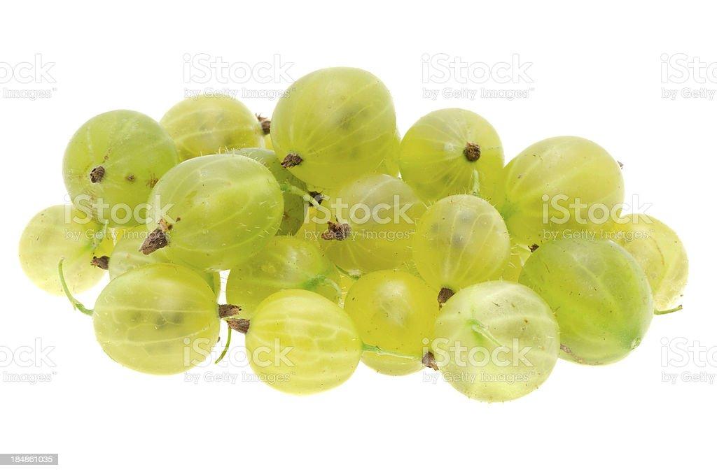 Fresh gooseberry royalty-free stock photo
