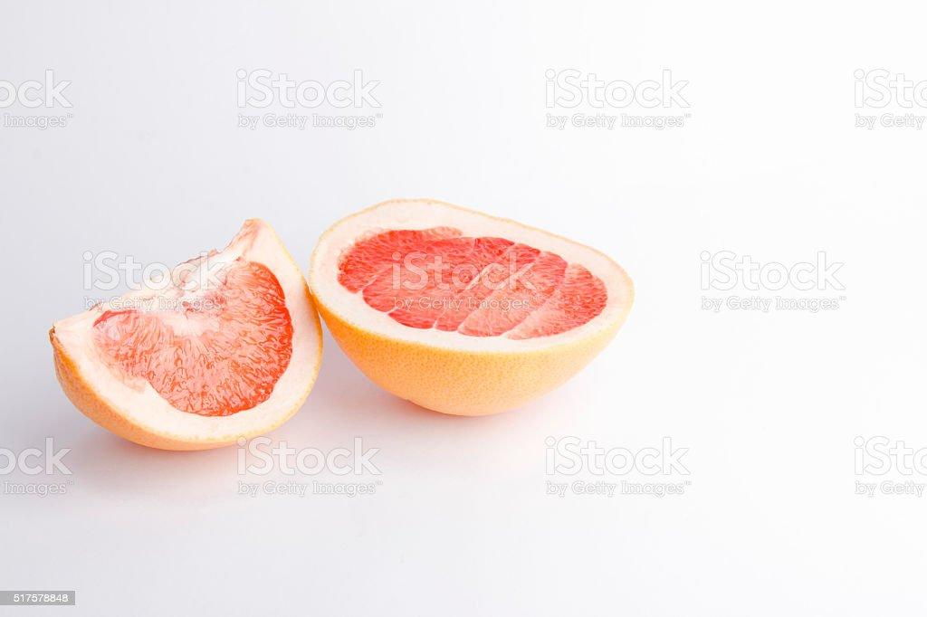 Fresh grapefruit stock photo