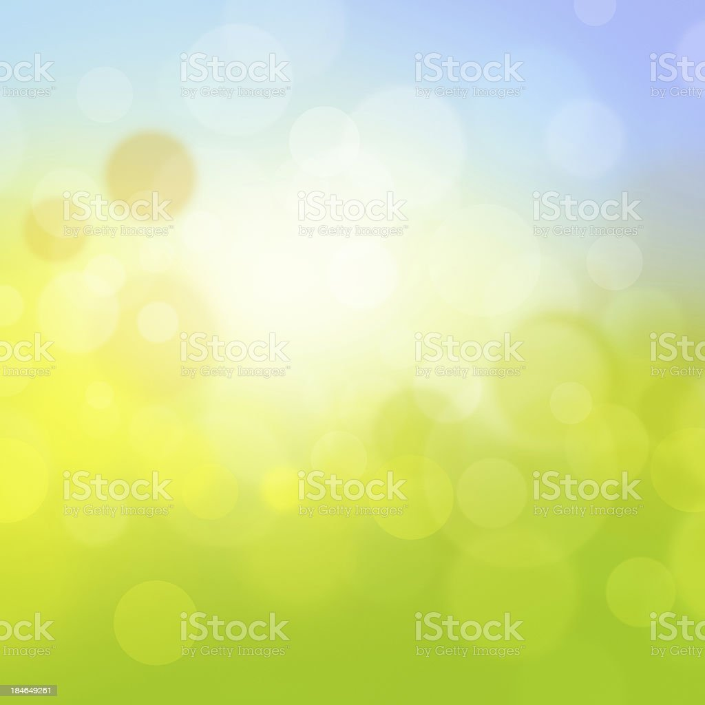 Fresh Green Background royalty-free stock photo