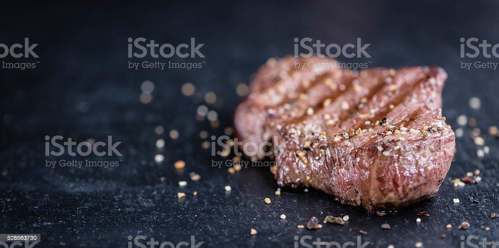 Fresh grilled Beef Steak stock photo