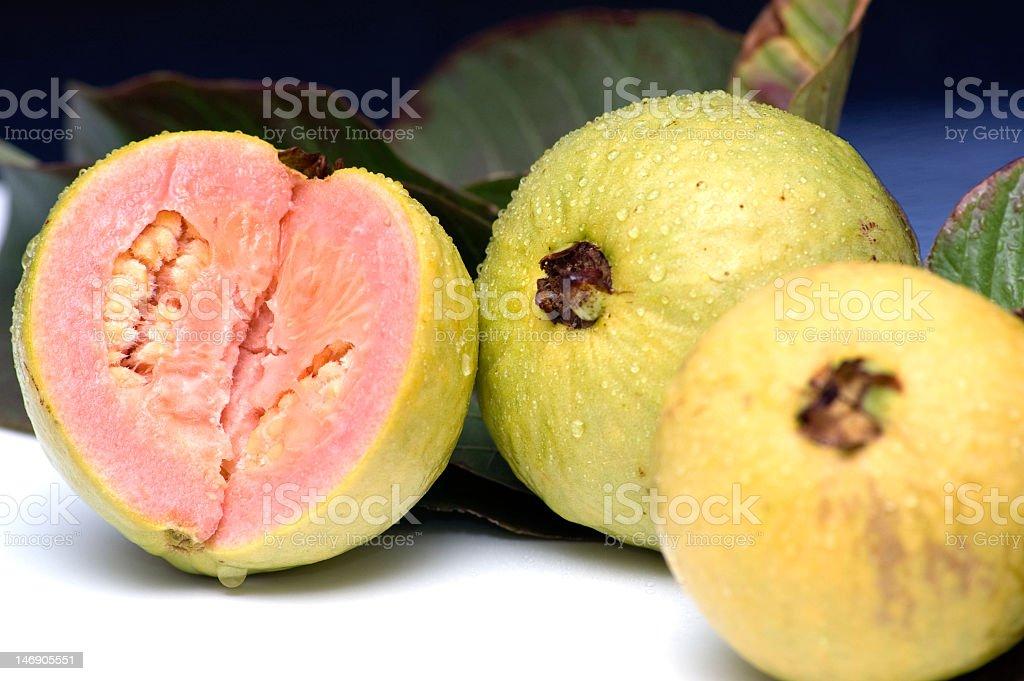 Fresh Guavas Fruit stock photo