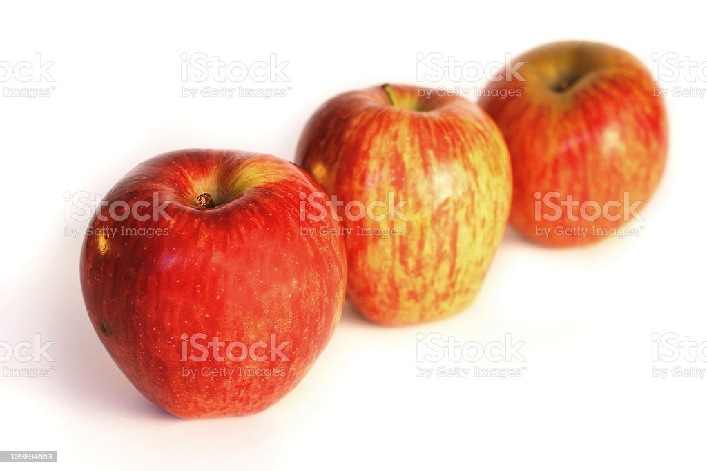 Fresh, healthy apples royalty-free stock photo