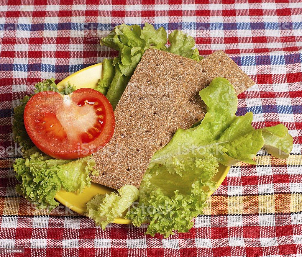 Fresca comida saludable foto de stock libre de derechos