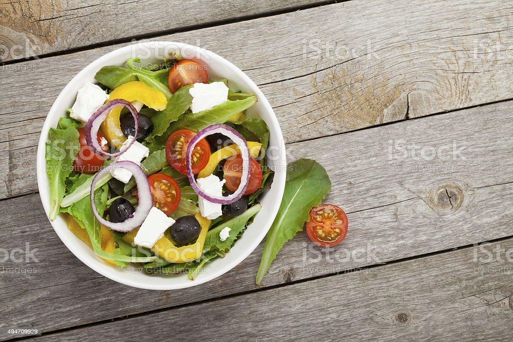 Fresh healty salad stock photo