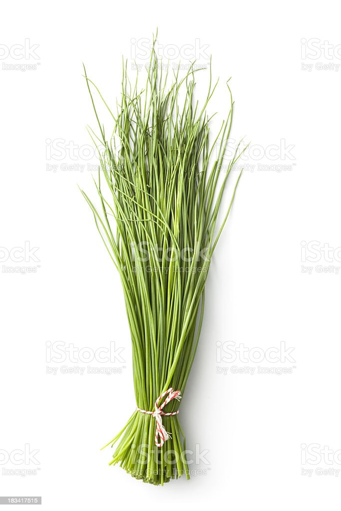 Fresh Herbs: Chives royalty-free stock photo