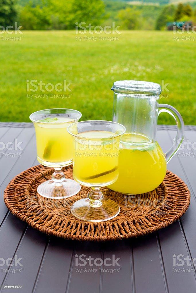 Fresh Homemade Lemonade stock photo