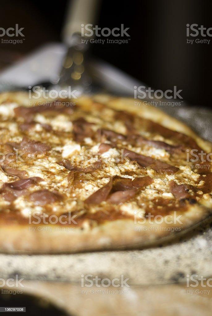 Fresh Homemade Pizza stock photo