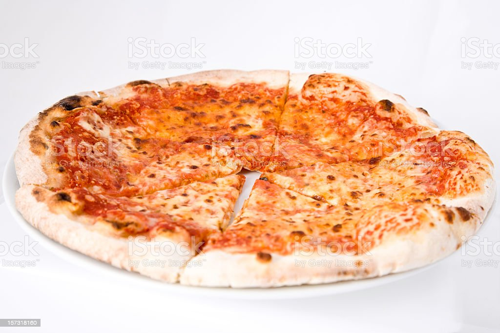 Fresh Hot Pizza Margharita stock photo