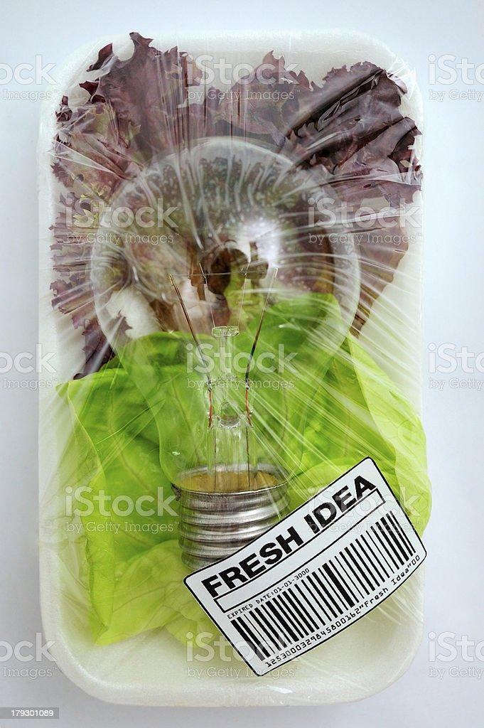 fresh idea royalty-free stock photo