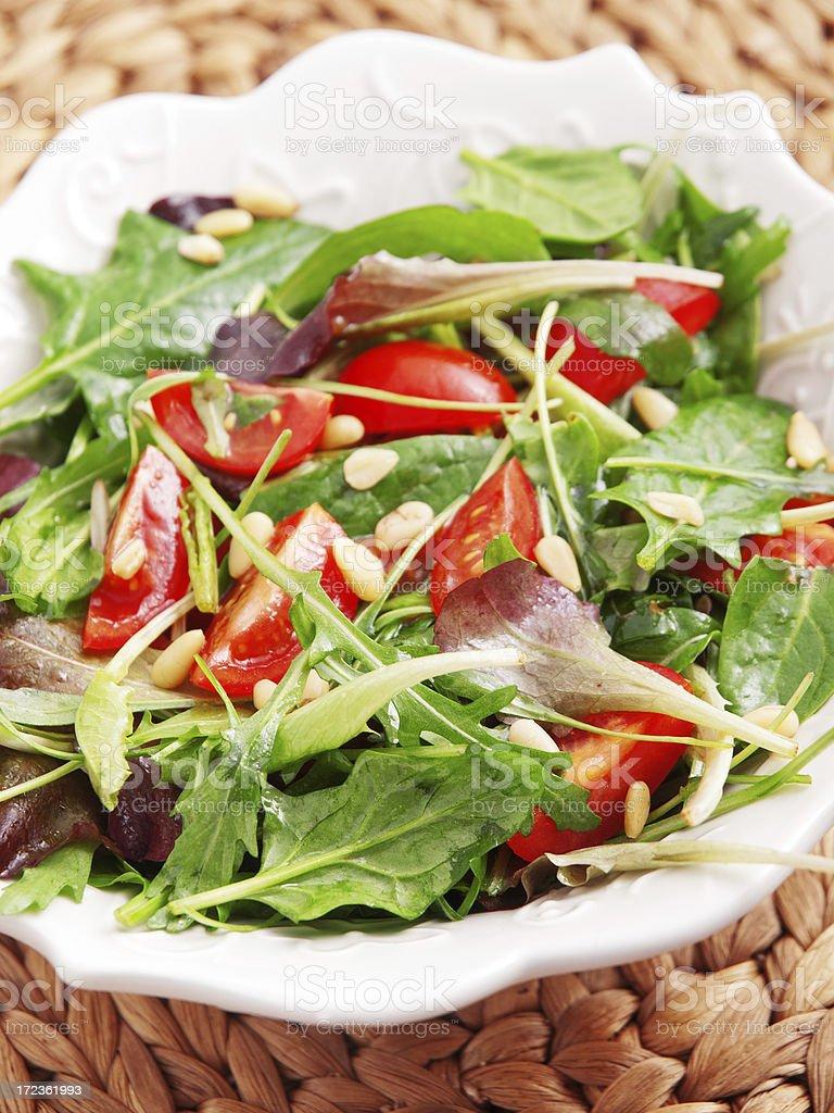 Fresh italian salad royalty-free stock photo