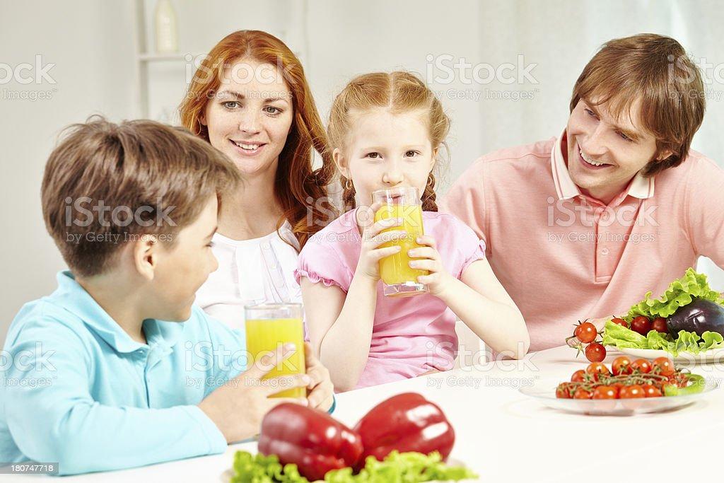 Fresh juice royalty-free stock photo