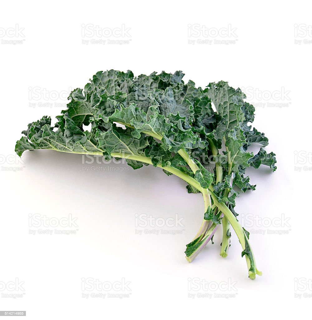 Fresh kale stock photo