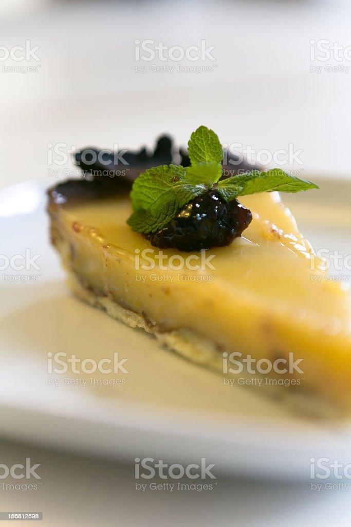 Fresh Lemon Cake stock photo