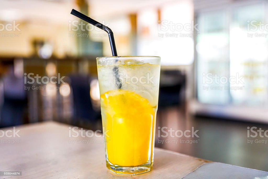 Fresh Lemon Juice stock photo