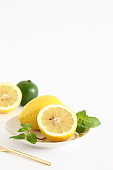 Fresh Lemon, Lime & Mint