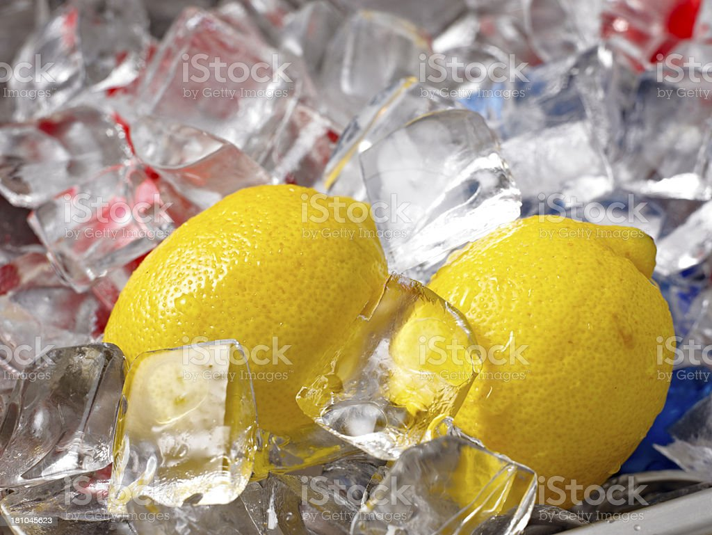 Fresh lemon. stock photo