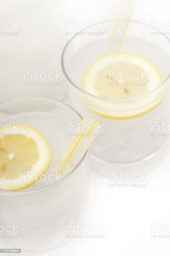 fresh lemonade drink royalty-free stock photo