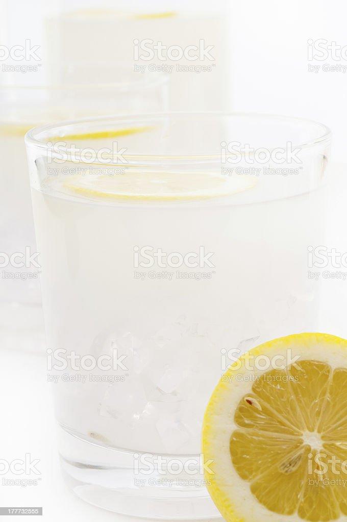 fresh lemonade drink royalty-free stock photo