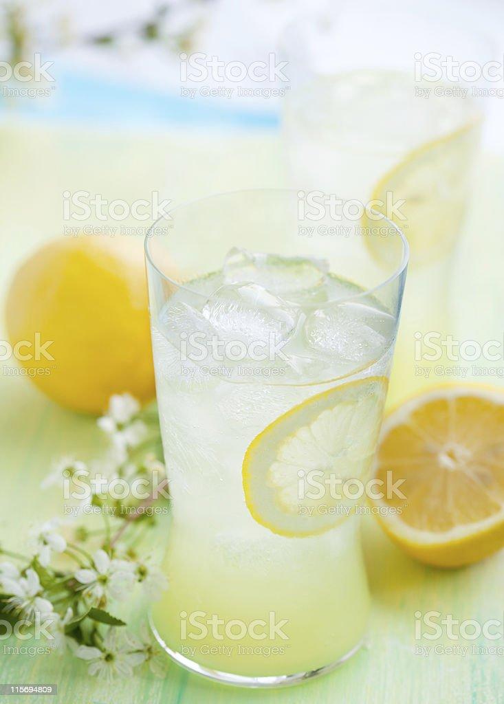 fresh lemonade royalty-free stock photo