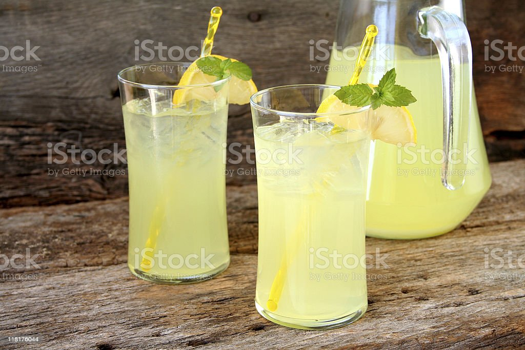 Fresh Lemonade royalty-free stock photo